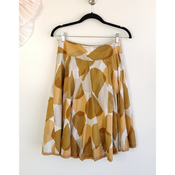 Anthropologie Dresses & Skirts - Anthropologie Odille Tallow Blade Skirt